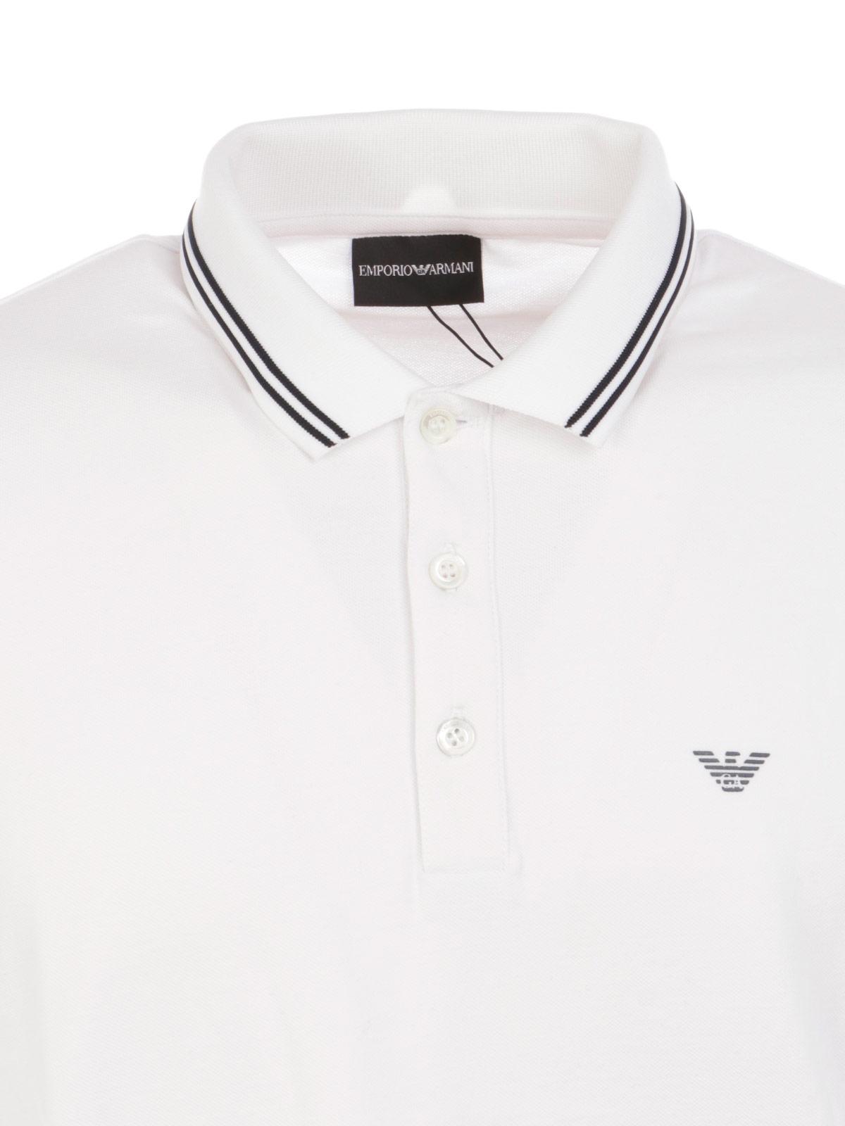 Picture of EMPORIO ARMANI   Men's Cotton Polo Shirt