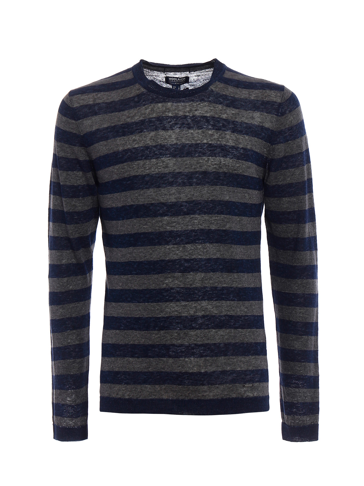 Picture of WOOLRICH | Men's Linen Striped Sweater