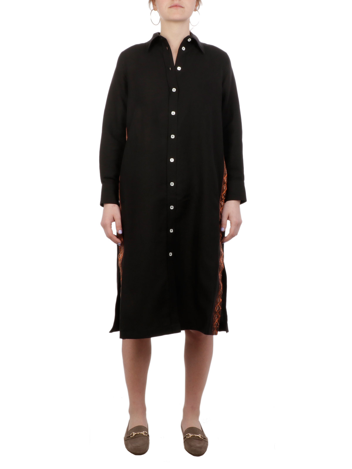 Picture of CALIBAN | Women's Linen Long Dress
