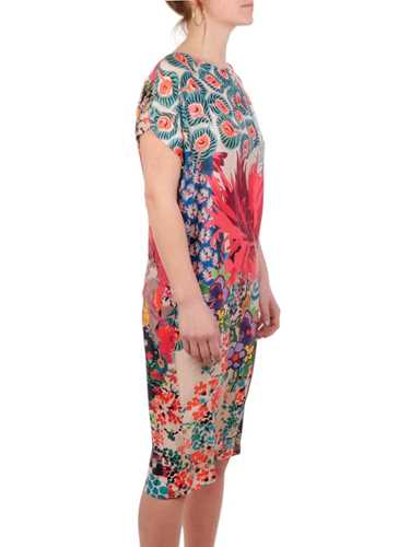 Picture of CALIBAN | Women's Floral Silk Dress
