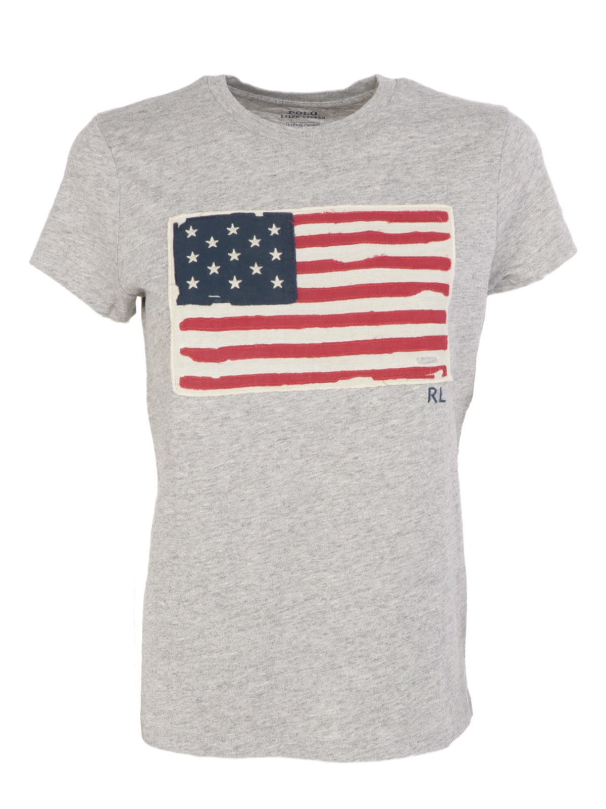 buy online new luxury POLO RALPH LAUREN Women's USA Flag T-Shirt