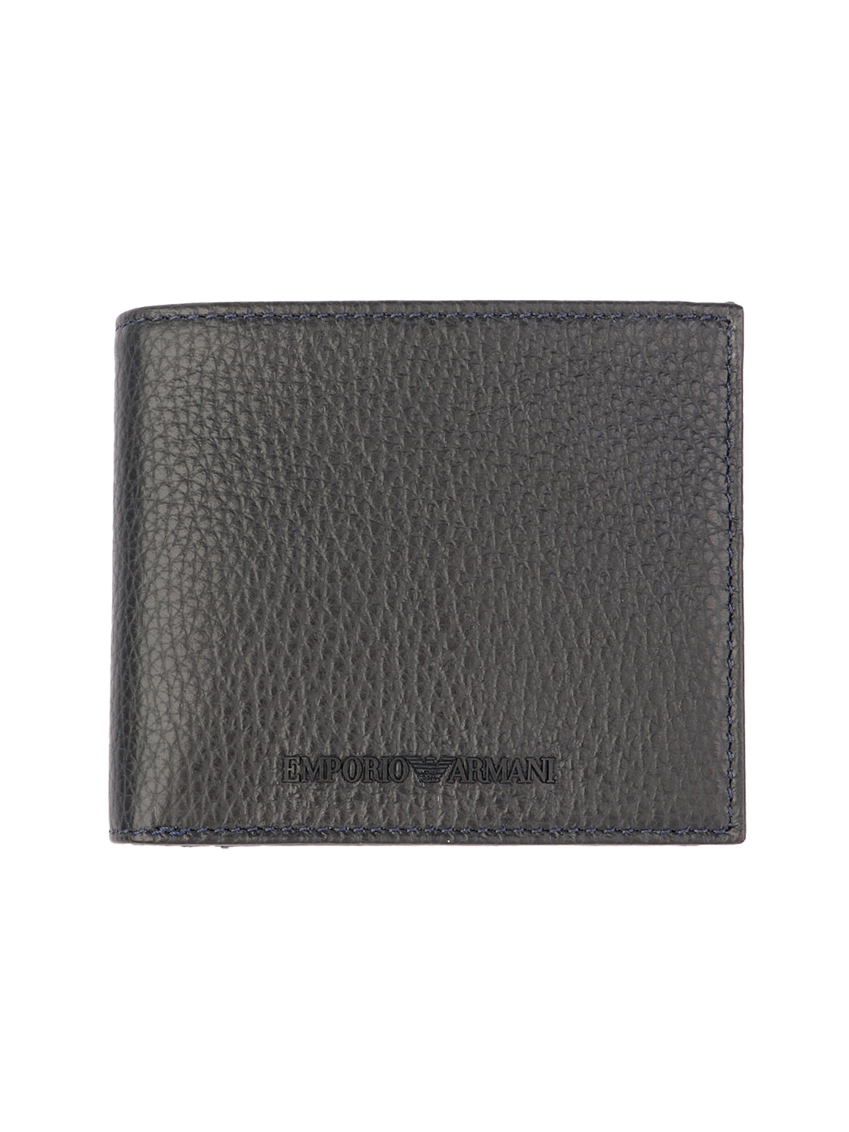 Picture of EMPORIO ARMANI   Men's Tumbled Leather Wallet