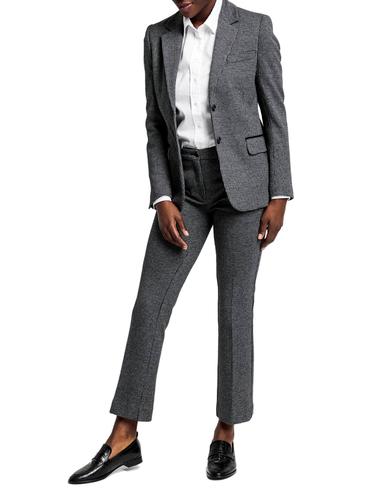 Picture of GANT | Giacche D1. DOGTOOTH JERSEY SLIM BLAZER