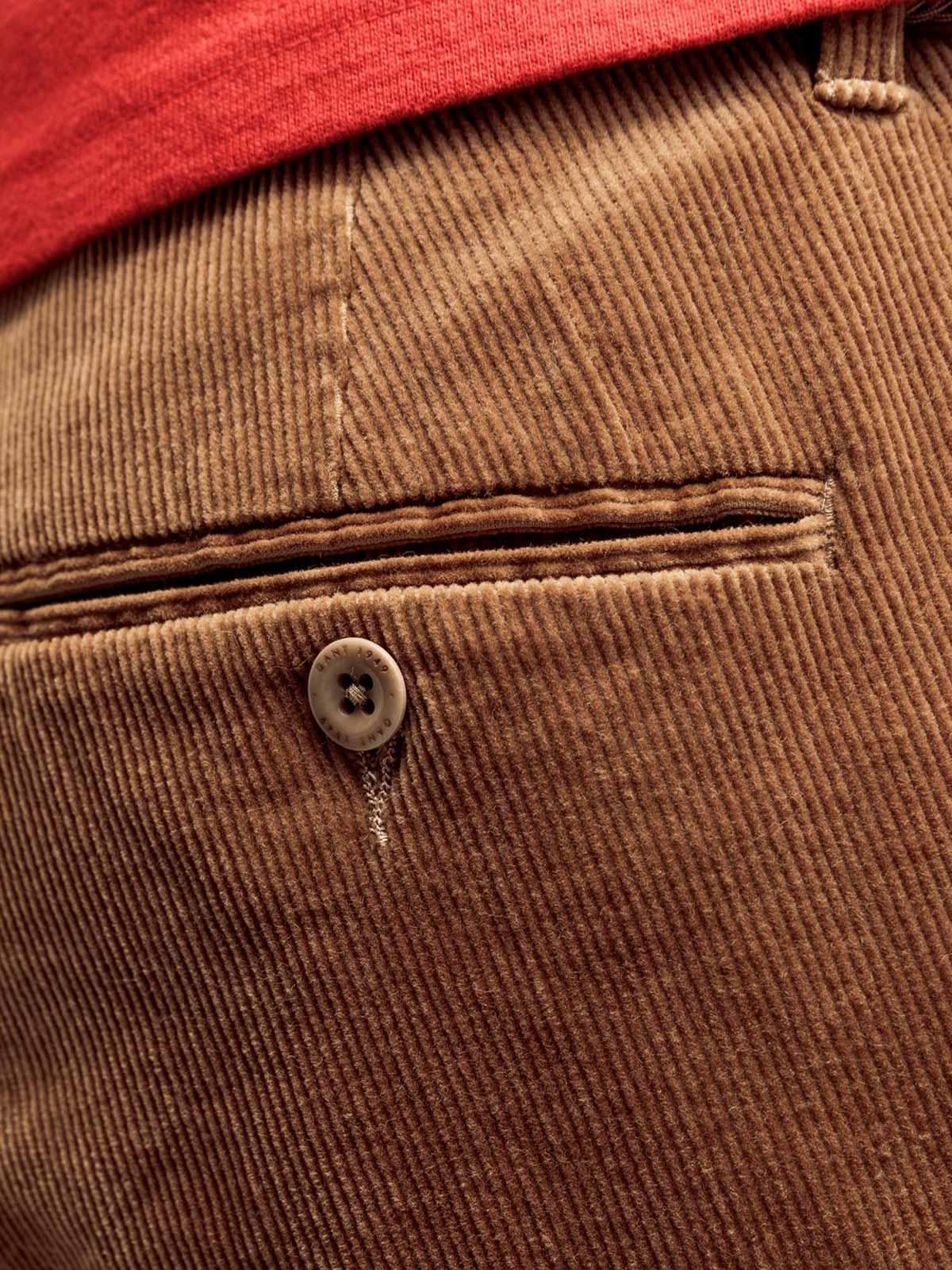 Picture of GANT | TROUSERS D1. SLIM CORD SLACK