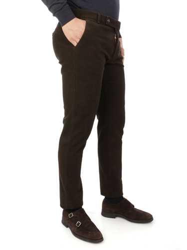 Picture of BERWICH | Men's Morello Velvet Cotton Trousers