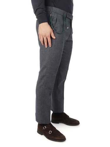 Picture of BERWICH | Men's Morello Houndstooth Trousers