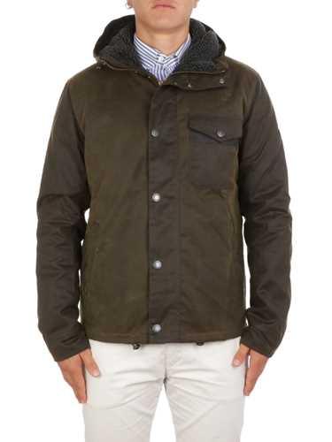 Picture of BARBOUR | Men's Leaaward Wax Jacket