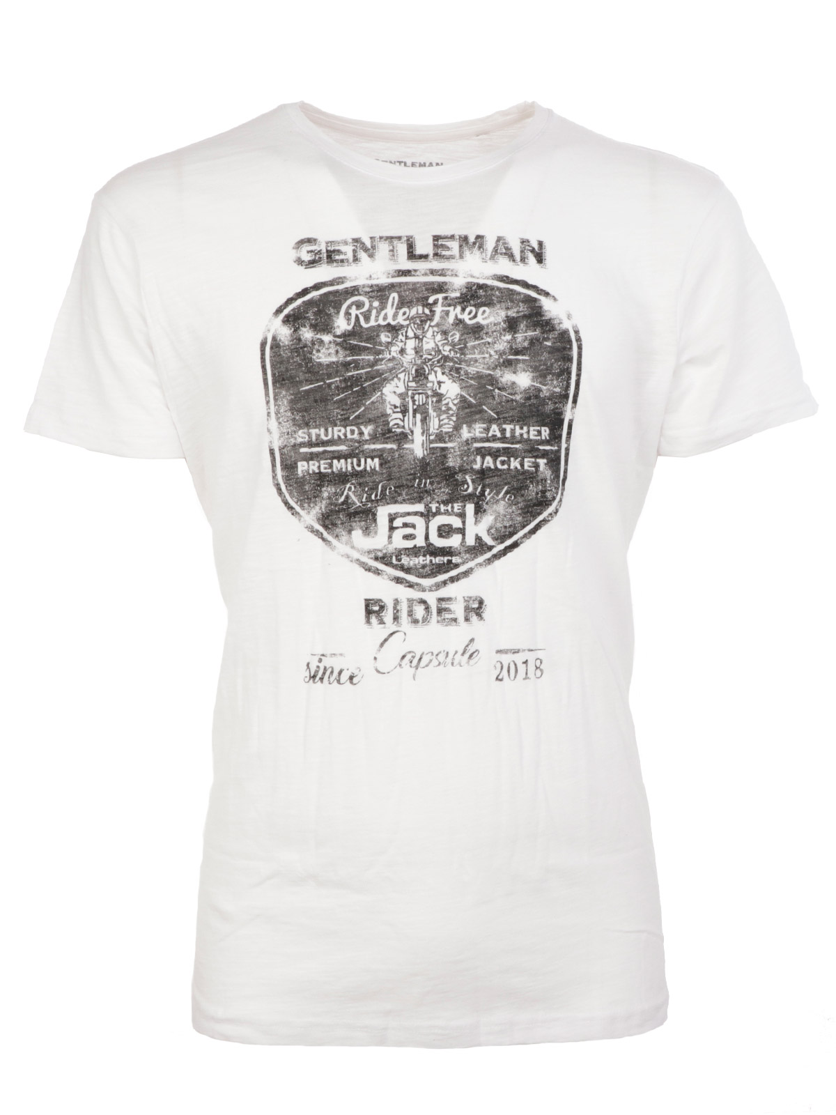 Immagine di THE JACK LEATHERS | T-Shirt Uomo Gentlemen Rider