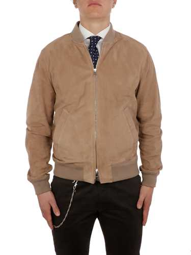 Picture of VALSTAR | Unlined Suede Bomber Jacket