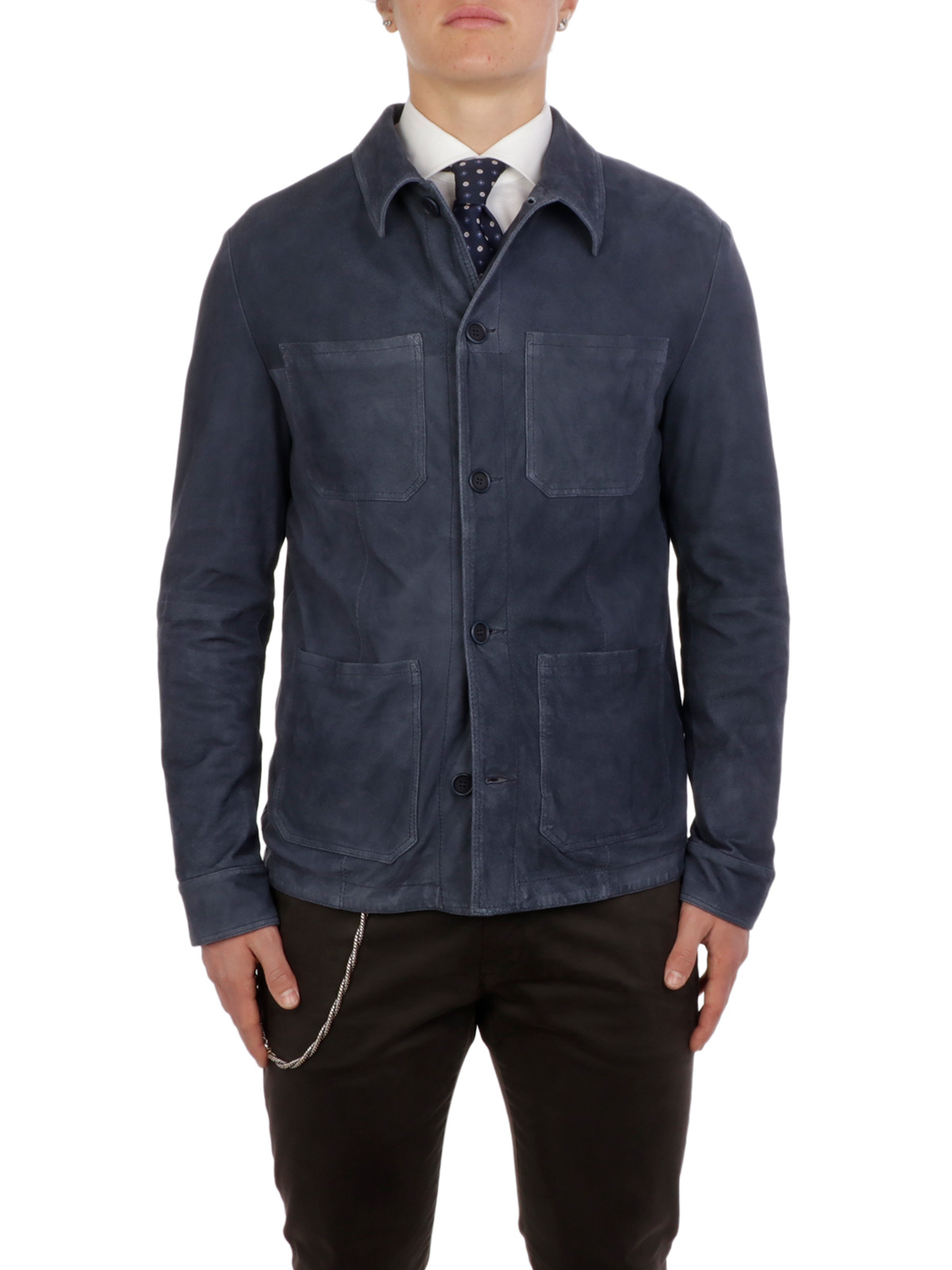 Picture of GIMO'S | Men's Suede Field Jacket