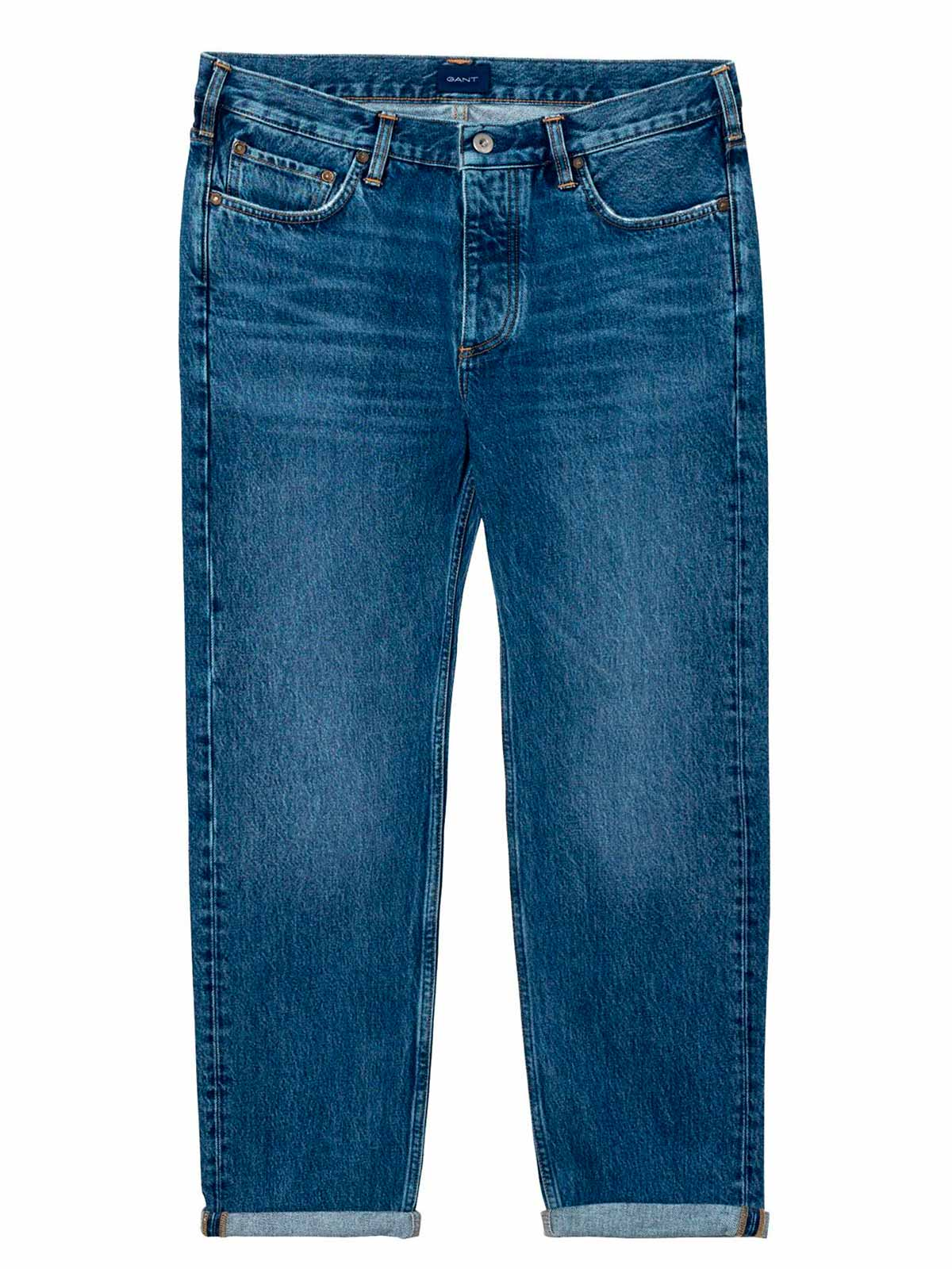 Picture of GANT | Men's Relaxed Cropped Hygge Jeans