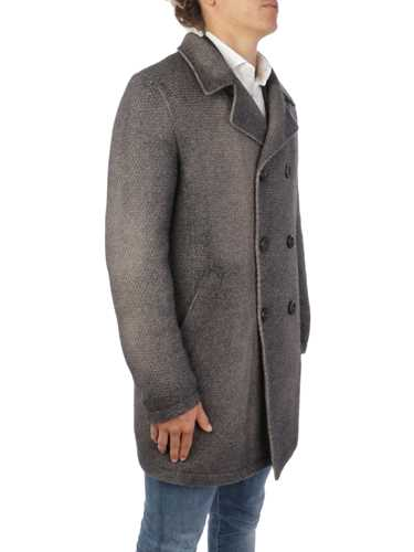 Picture of GIMO'S | Men's Double-Breasted Washed Wool Coat