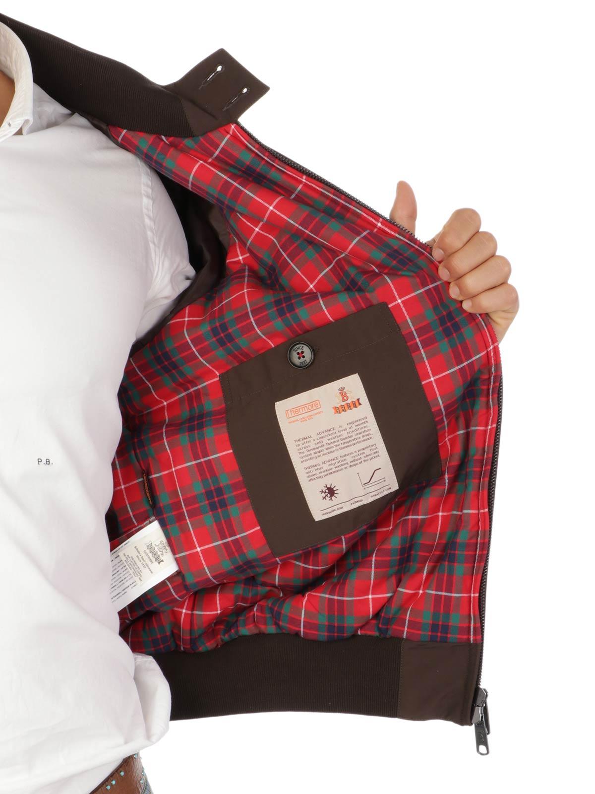 Picture of BARACUTA | Men's G9 Thermal Harrington Jacket