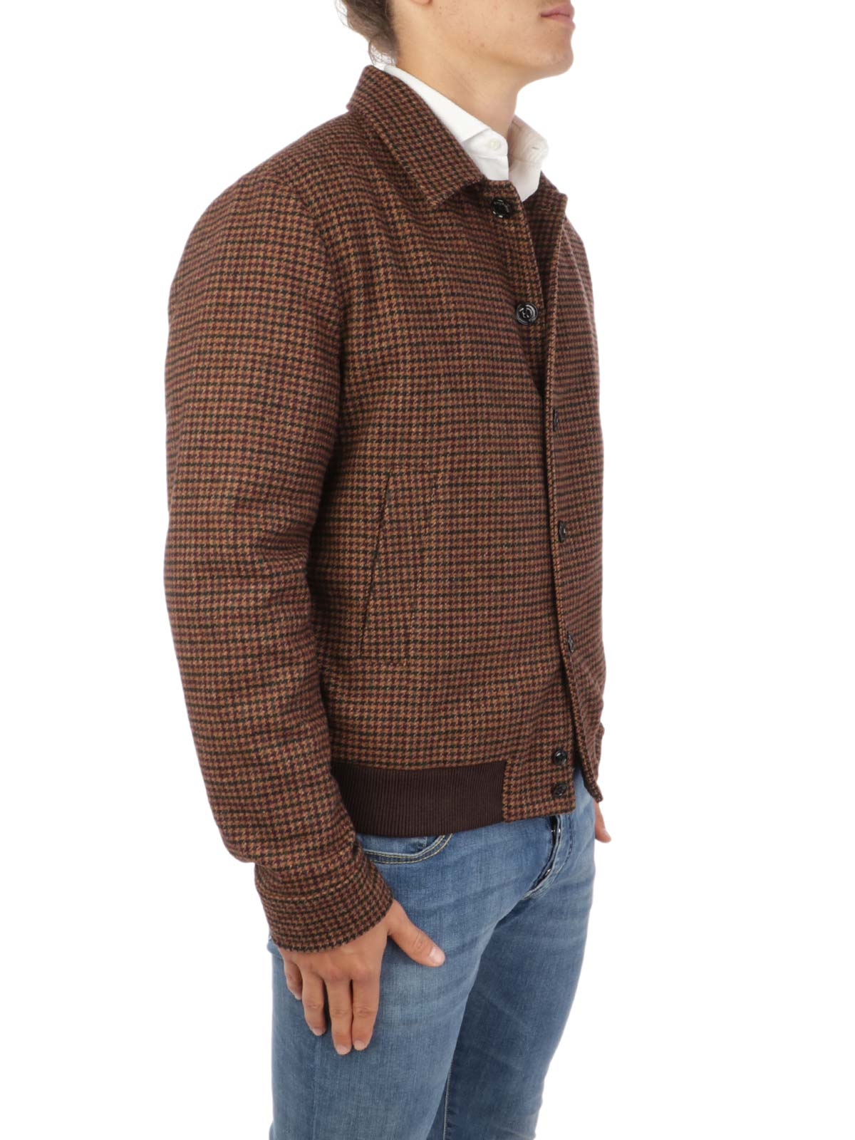 Picture of Brooksfield | Giubbotti Buttons Jacket