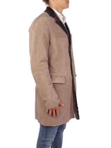 Picture of EMPORIO ARMANI | Men's Sheepsking Coat