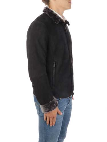 Picture of EMPORIO ARMANI | Men's Sheepsking Jacket