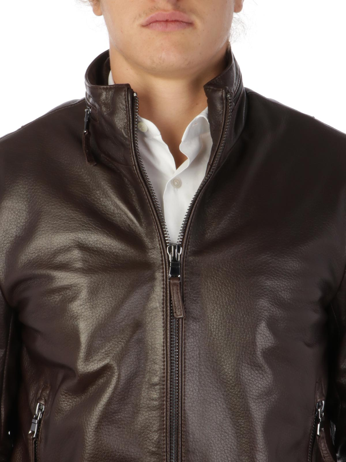 Picture of THE JACK LEATHERS | Men's Stormy Leather Jacket