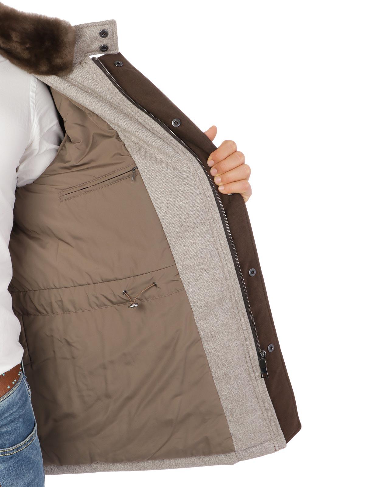 Picture of DORIANI   Men's Wool Coat