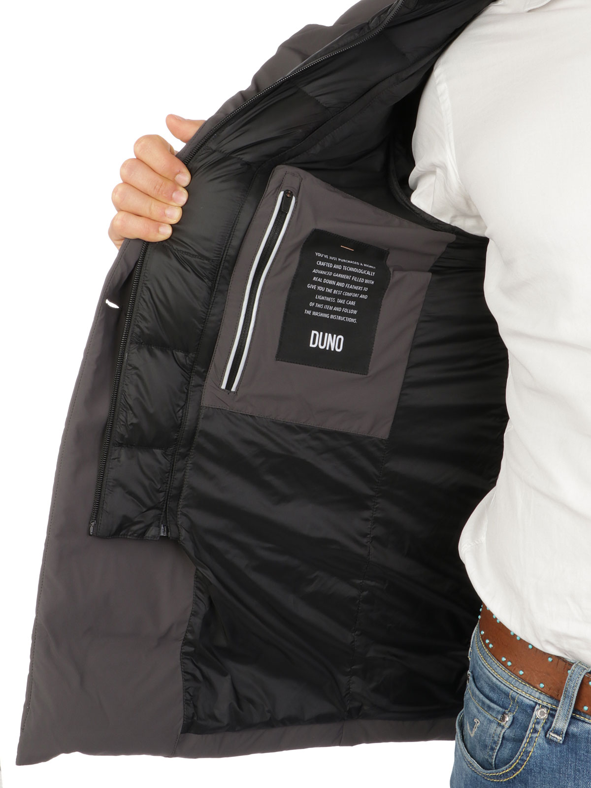 Picture of DUNO | Men's Grey Licosa Jacket