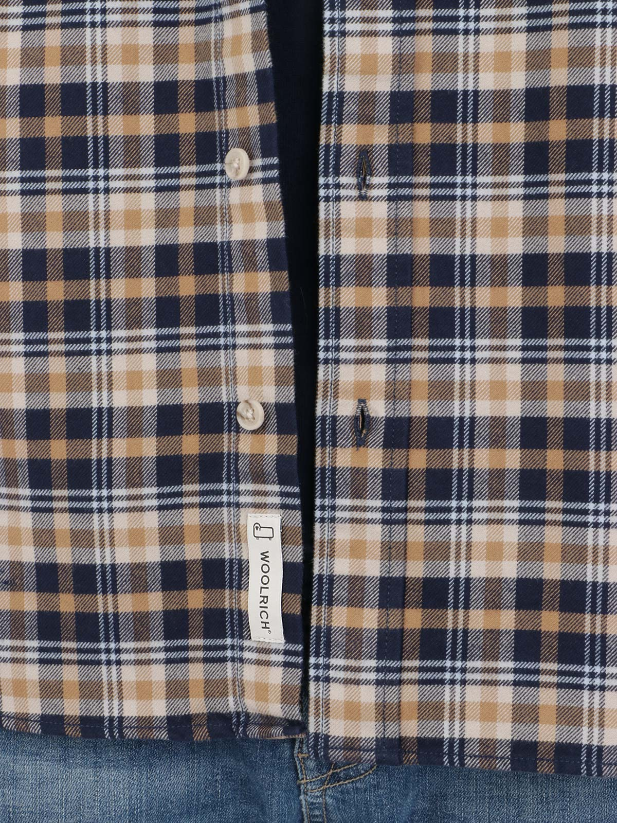 Immagine di WOOLRICH | Camicia Uomo in Flanella a Quadri