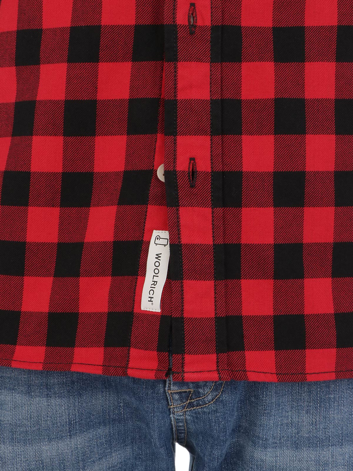 Picture of WOOLRICH | Men's Flannel Checked Shirt