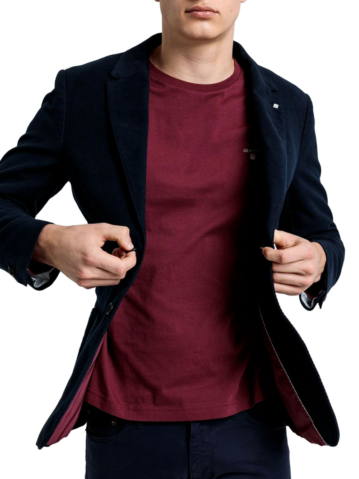 Picture of GANT | Giacche D2. WINTER FADED MOLESKIN BLAZER