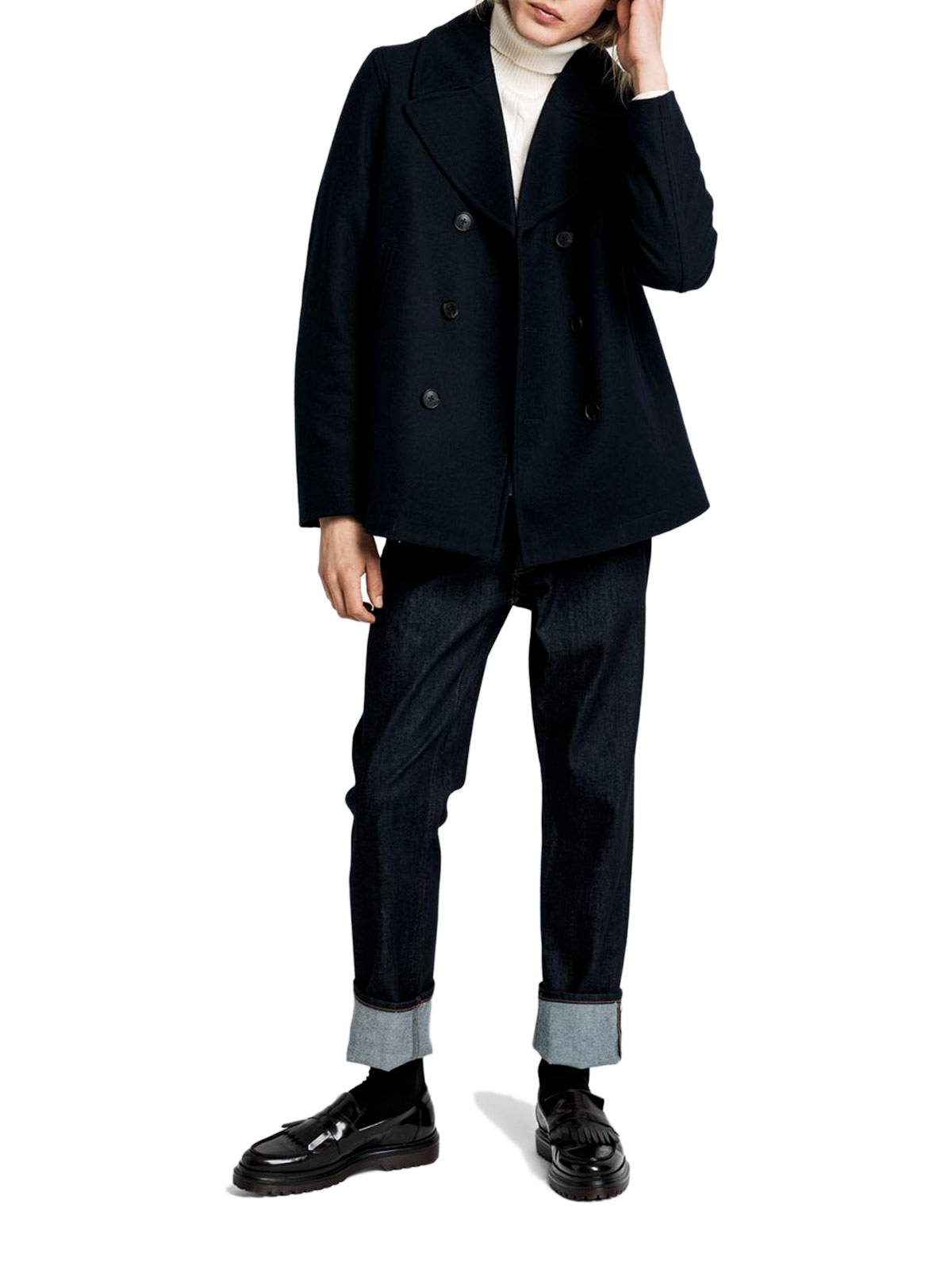 Picture of GANT | COAT D1. THE CLASSIC PEA COAT