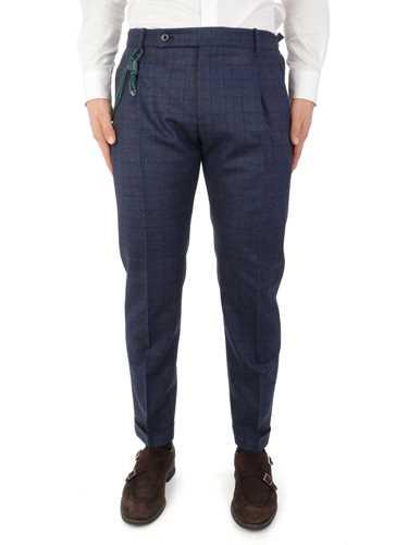 Picture of BERWICH | Men's Retro Check Trousers