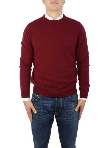 Picture of MALO | Men's Shaved Cashmere Crewneck Sweater