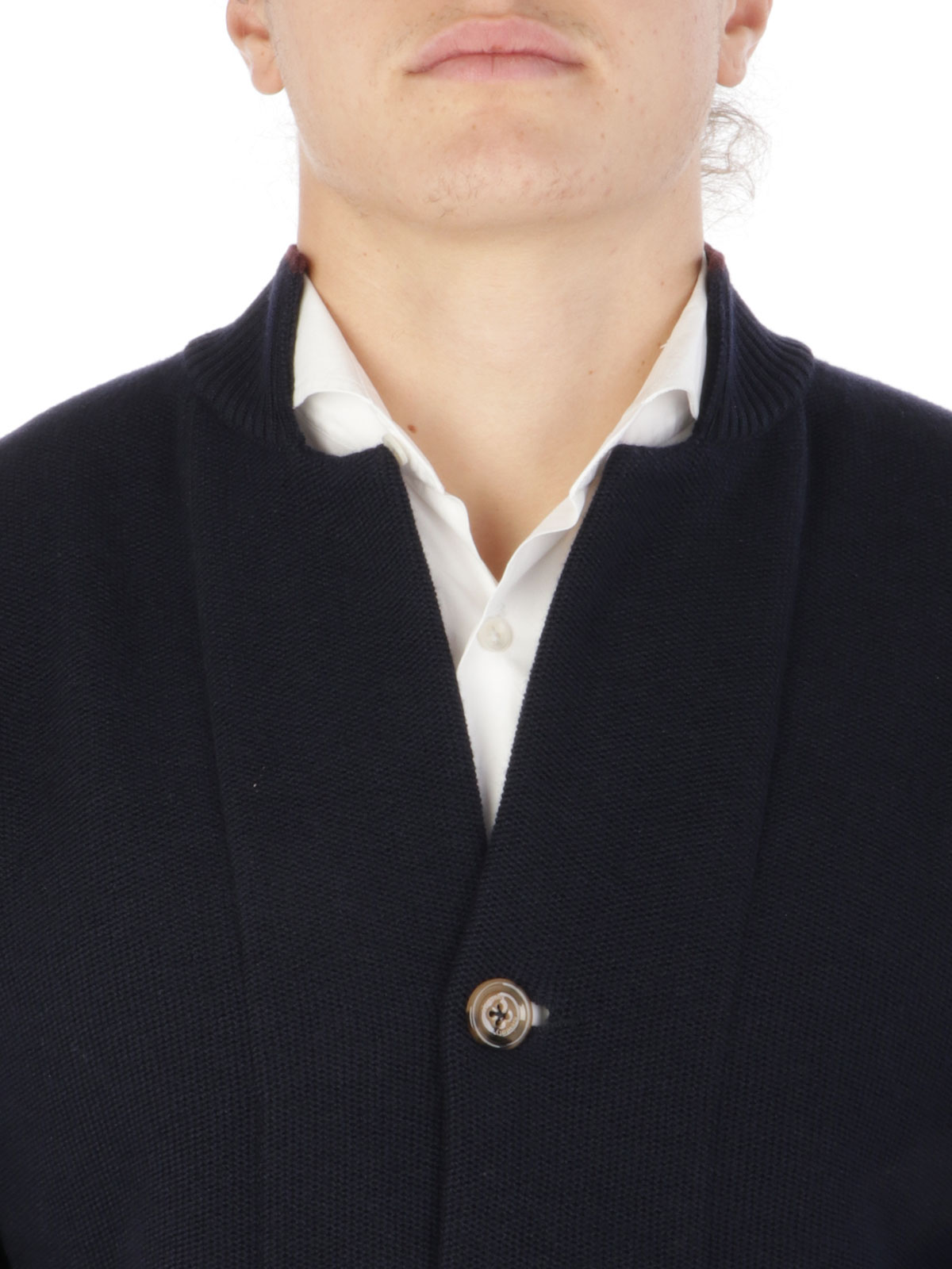 Picture of ELEVENTY | Men's Three-Button Wool Cardigan