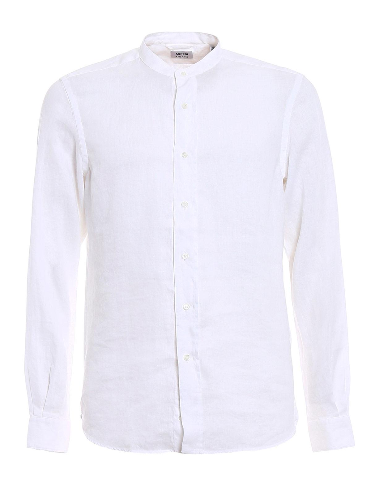 Picture of ASPESI | Men's Korean Linen Shirt