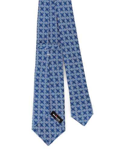 Immagine di KITON | Cravatta Uomo Blu Fantasia