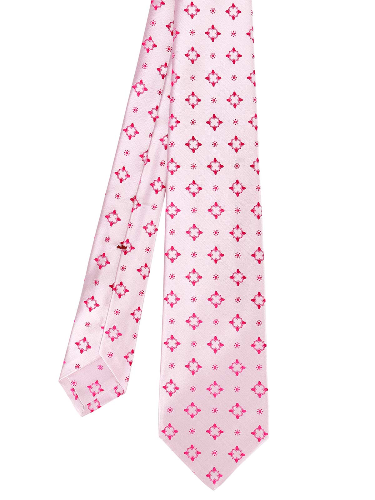 Picture of KITON | Men's Patterned Pink Tie