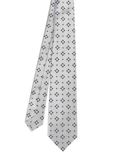 Picture of KITON | Men's Patterned Grey Tie