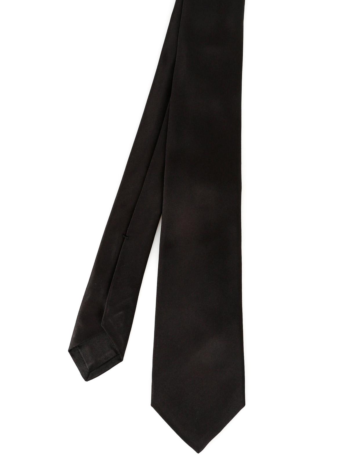 Picture of KITON | Men's Black Tie