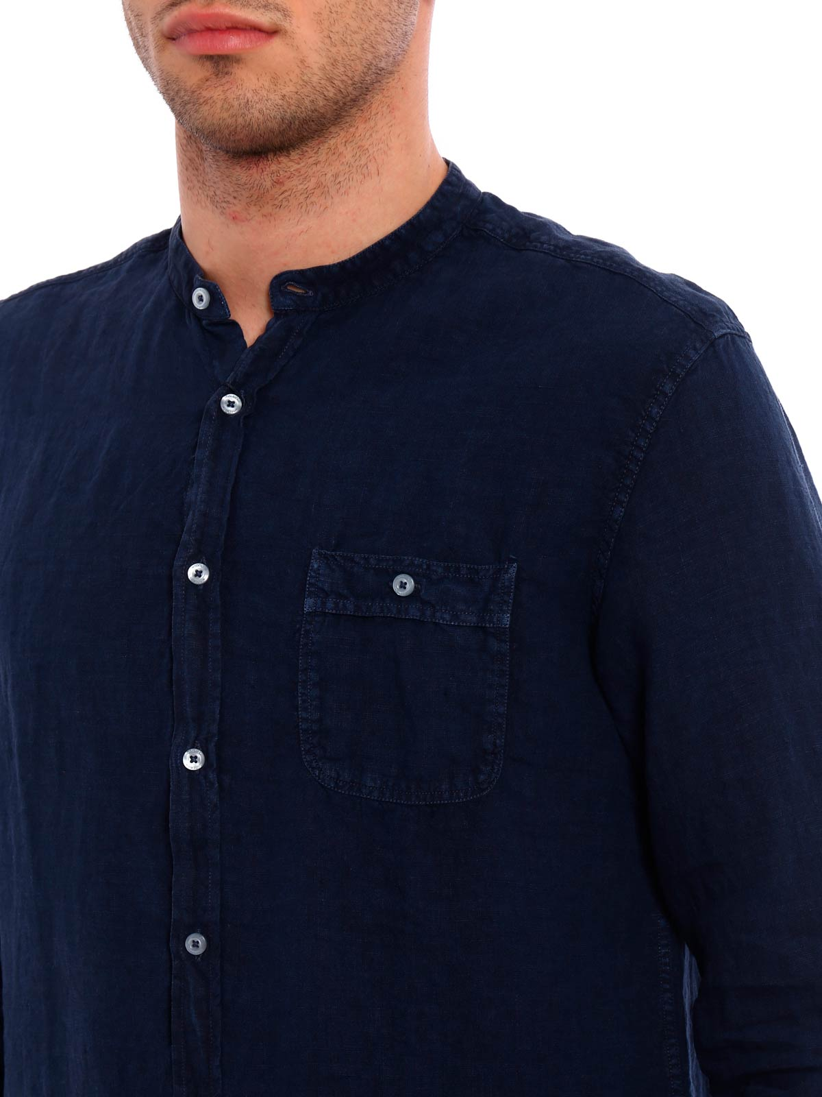 Picture of WOOLRICH | Men's Linen Shirt
