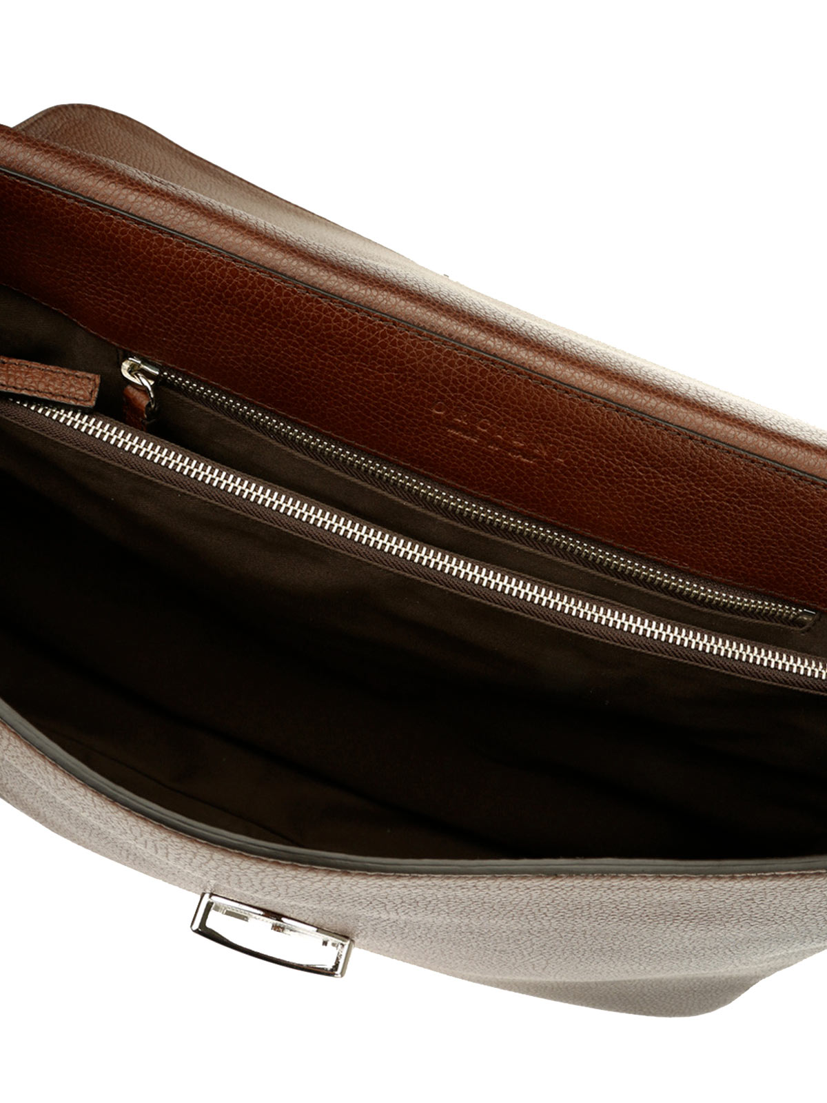 Picture of ORCIANI | Men's Micro Deep Leather Work Bag