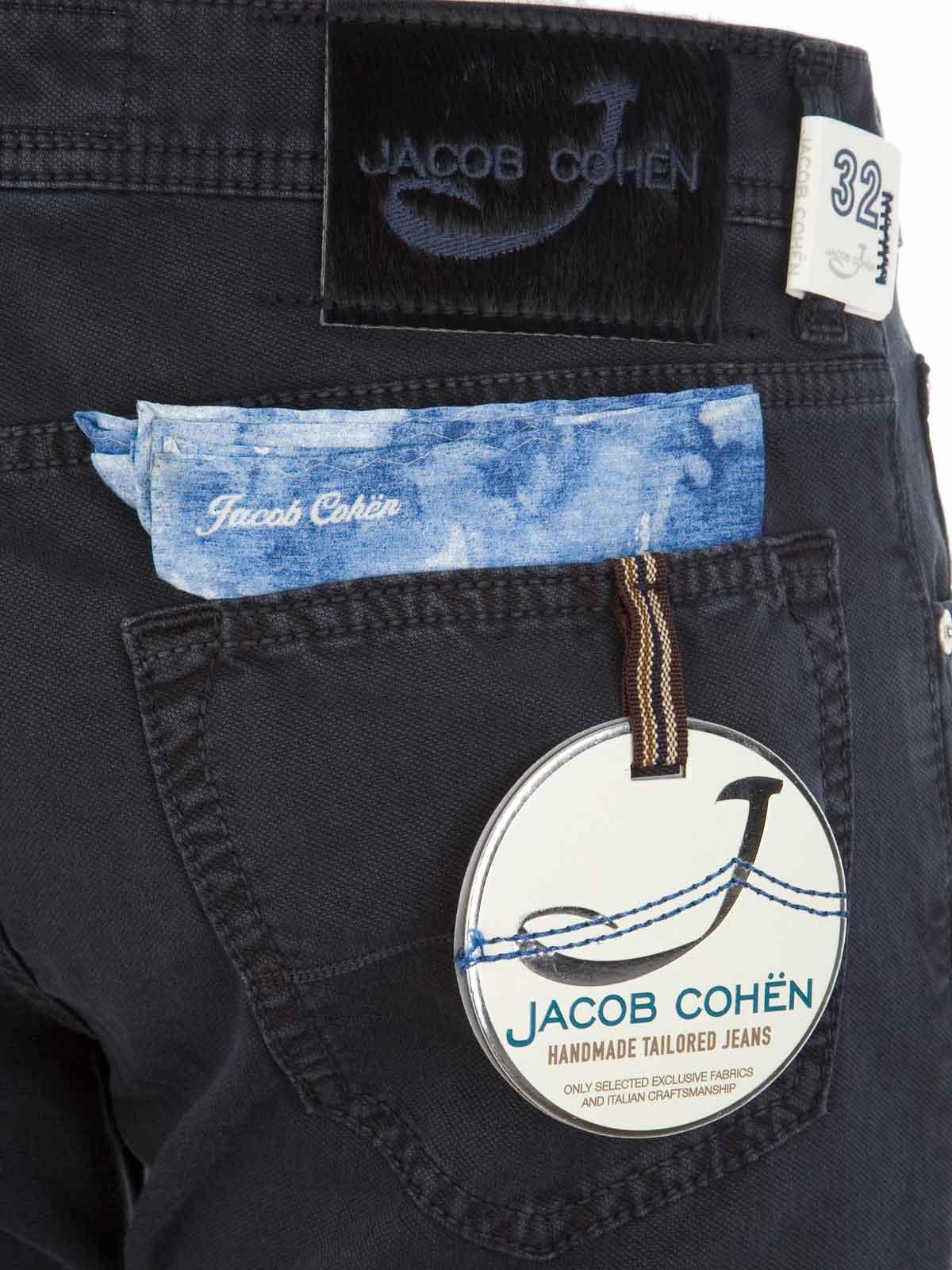 Picture of JACOB COHEN   Cotton Trousers