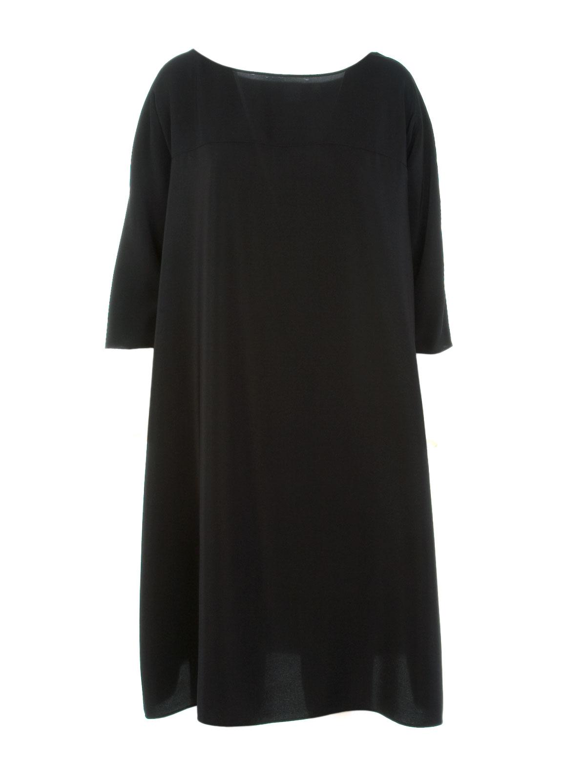 Picture of ASPESI | Silk Dress 3/4 Sleeve