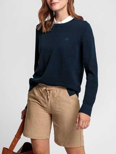 Picture of GANT | Women's Cotton Piqué Crewneck Jumper