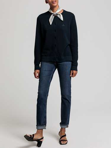 Picture of GANT | Women's Cotton Piqué Cardigan