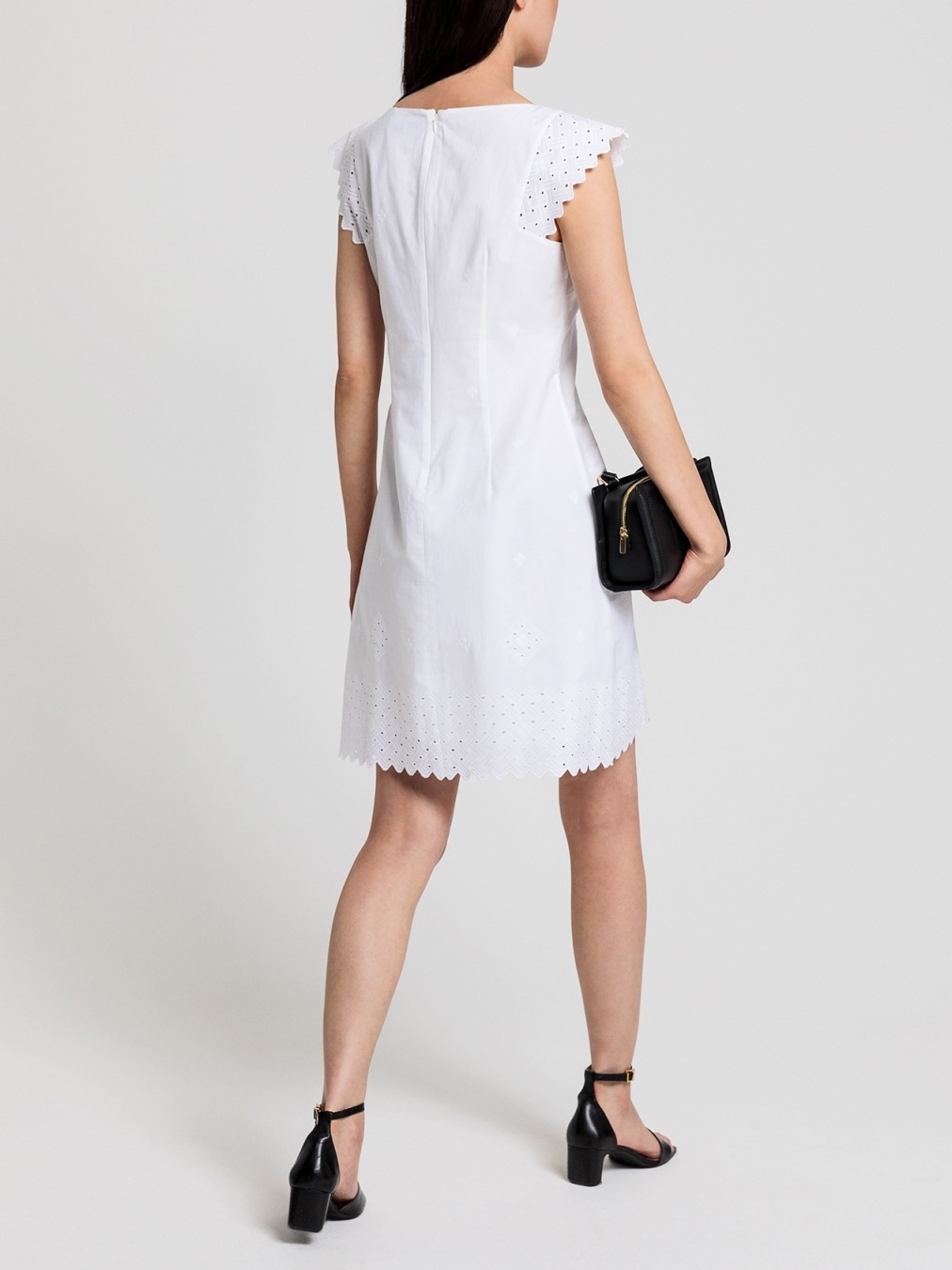 Picture of GANT | Women's Broderie Anglaise Dress