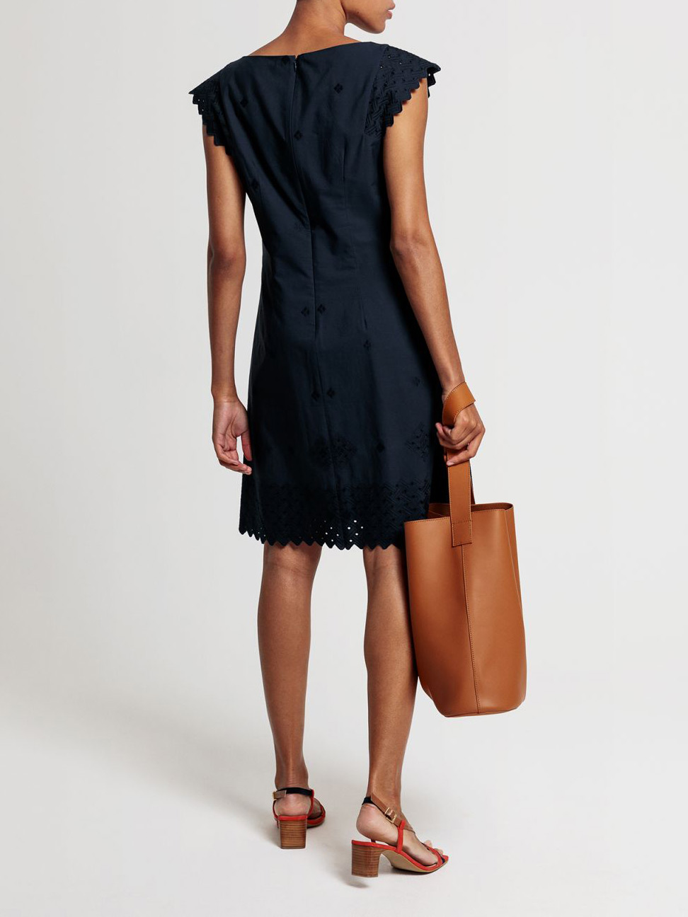 Picture of GANT   Women's Broderie Anglaise Dress
