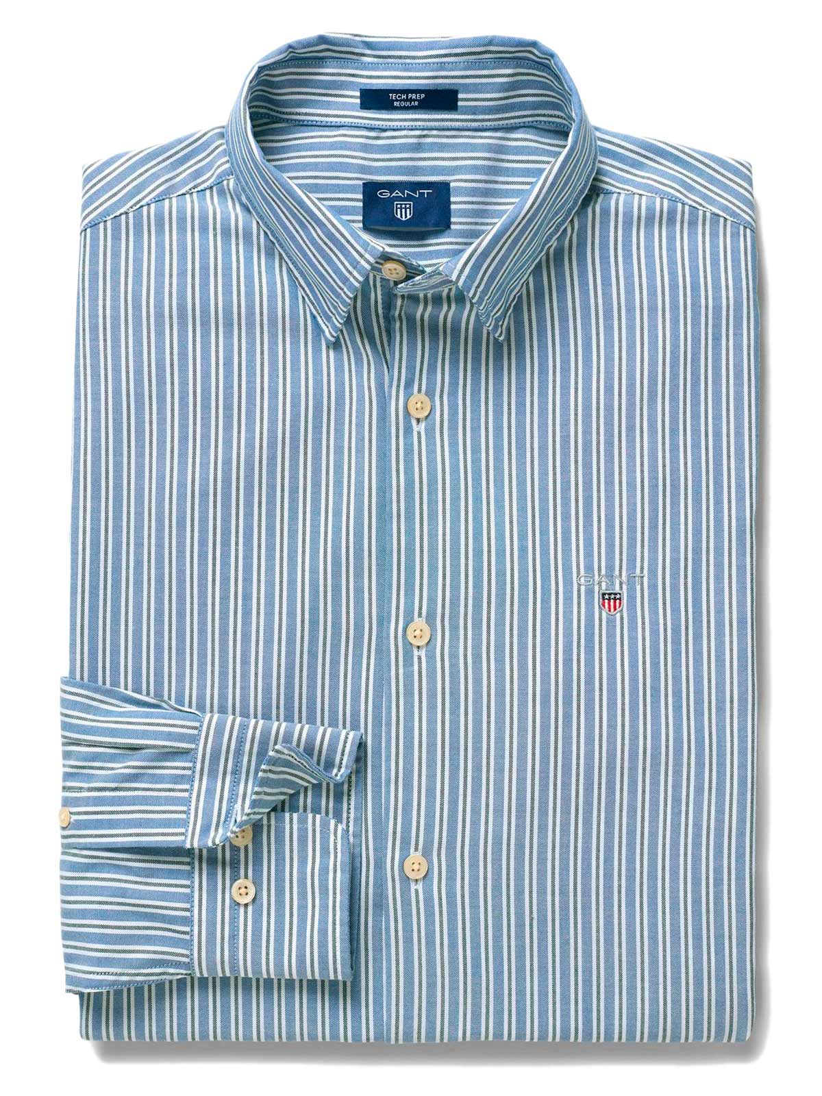 Picture of GANT | Men's Oxford Multistripe Shirt