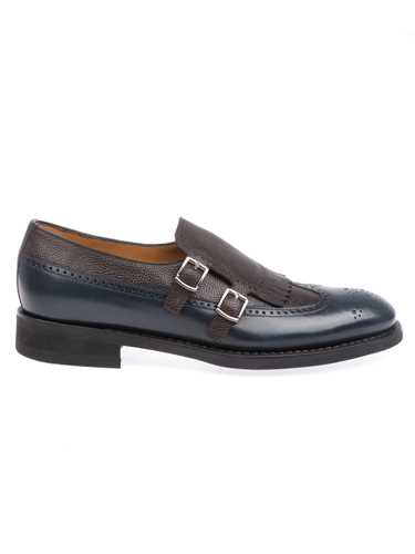 Picture of BARRETT | Men's Loafer with Fringe and Buckles