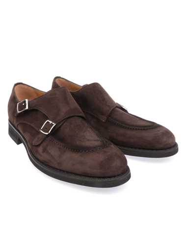 Picture of BARRETT | Men's Suede Double-Buckle Loafer