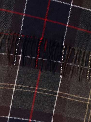 Picture of BARBOUR | Men's Tartan Scarf with Fringes