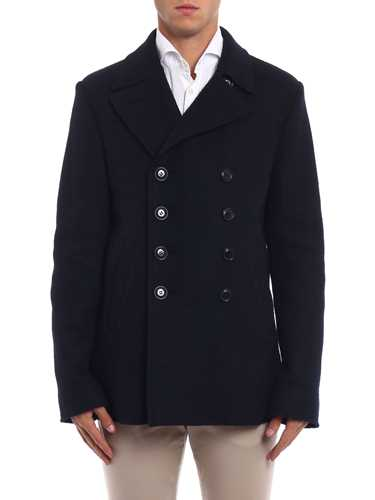 Picture of ASPESI | Men's Peak Boiled Wool Coat