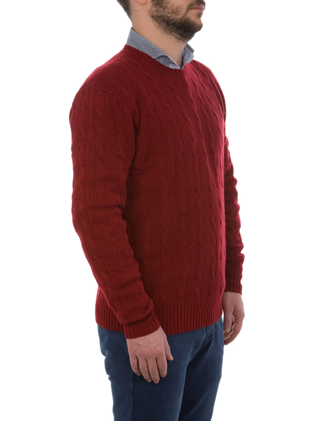 Picture of POLO RALPH LAUREN | Cable-Knit Cashmere Sweater