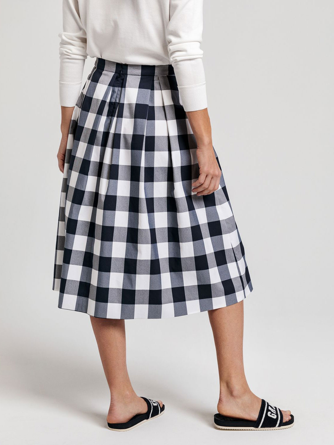 Picture of GANT | Gingham Pleated Skirt